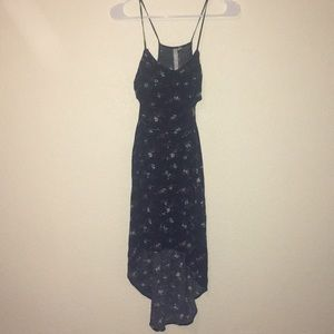 Reformed button down floral dress